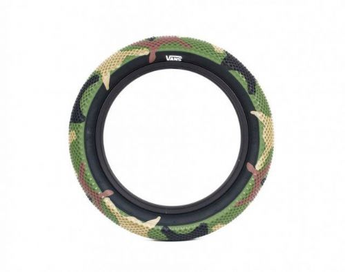 "Cult 16"" Vans Tyre - Camo With Black Sidewall 2.30"""